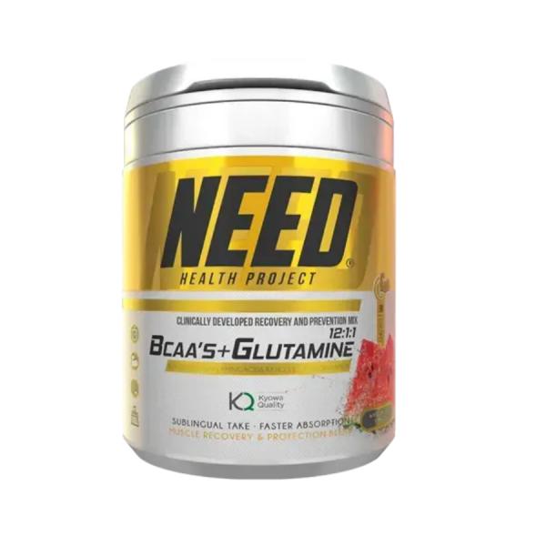 Глутамин NEED BCAAS & GLUTAMINE 300 гр