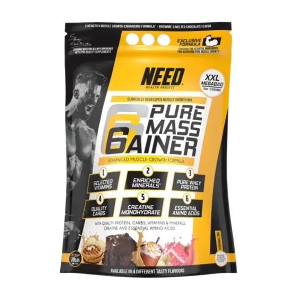 Формула за мускули NEED PURE MASS GAINER 4540 гр