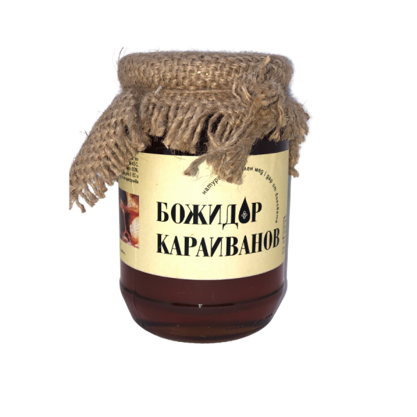 Фермерски Пчелен полски мед 950 гр