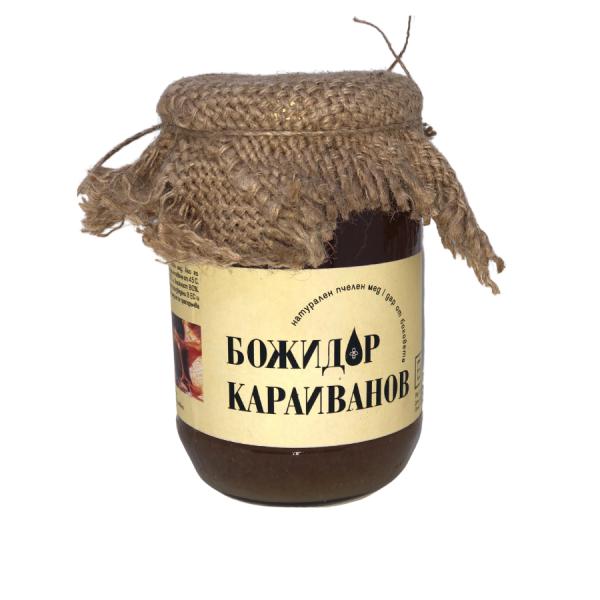 Фермерски Пчелен мед от рапица и липа 950 гр