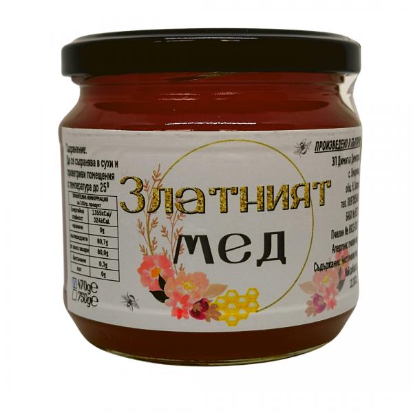 Билков мед от Златният Мед 470г.