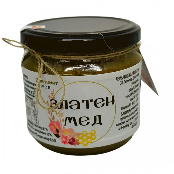 Златен мед 470г.